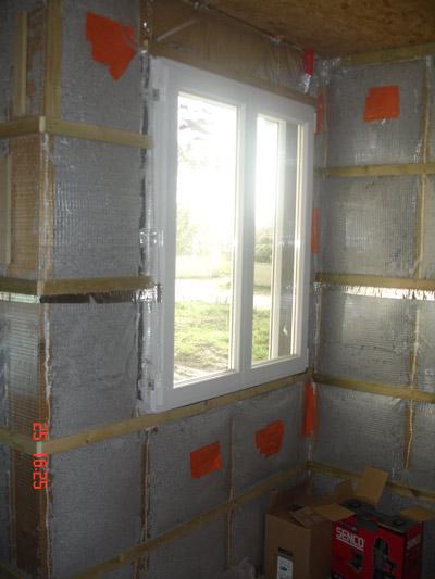 ouatede cellulose insuffl e dans les caissons le 20 et 22f vrier 2007. Black Bedroom Furniture Sets. Home Design Ideas